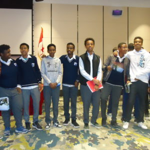 Edu Canada scholarship meeting of grade 11 & 12 students at Skylight hotel