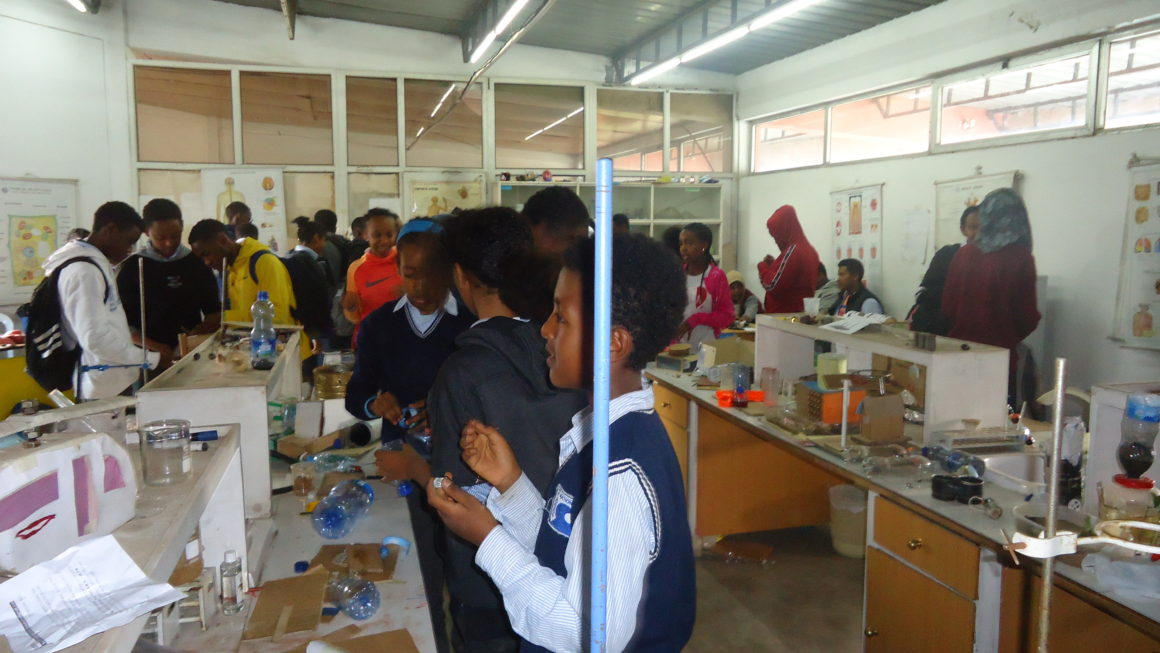 School of Nations Science Fair Day